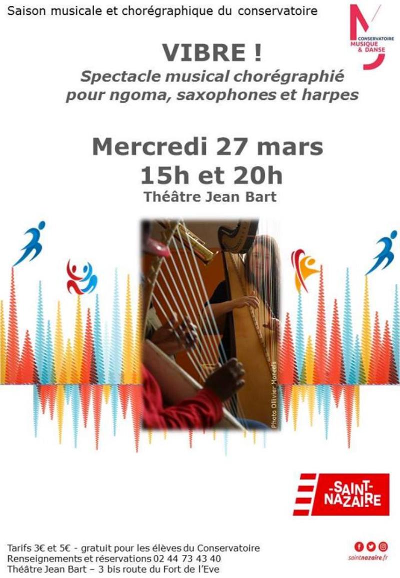 Vibre ! Spectacle musical chorégraphié