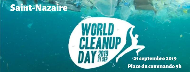 World Clean Up day à Saint-Nazaire
