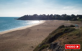 Saint-Nazaire : la plage de la Courance redevient totalement accessible