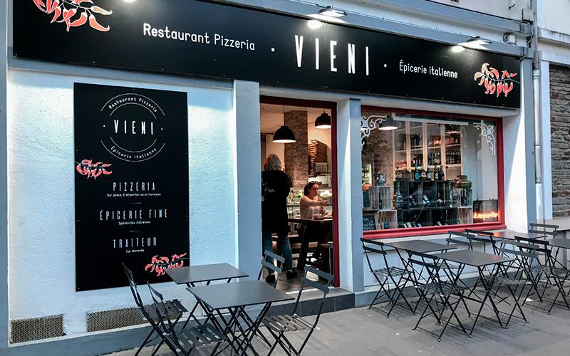 Vieni, tout nouveau restaurant traiteur italien à Saint-Nazaire