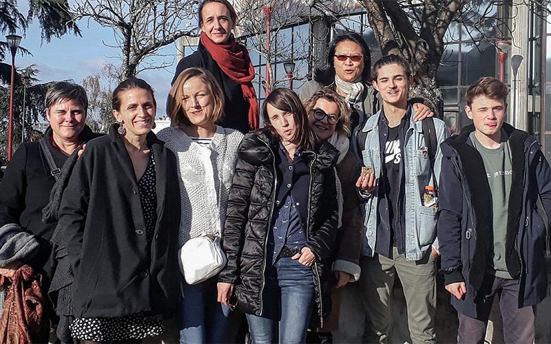 10 Nazairiens avec Benoit Hamon au lancement de Génération.s