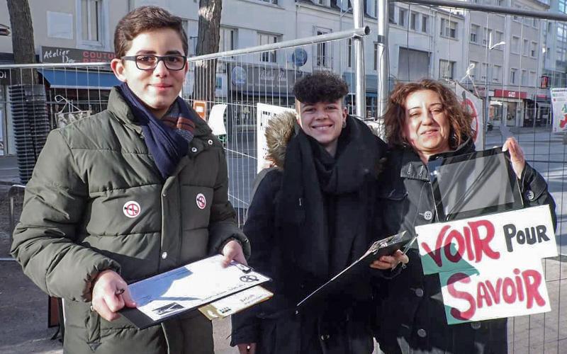 Action Non au Foie Gras samedi 23 décembre à Saint-Nazaire