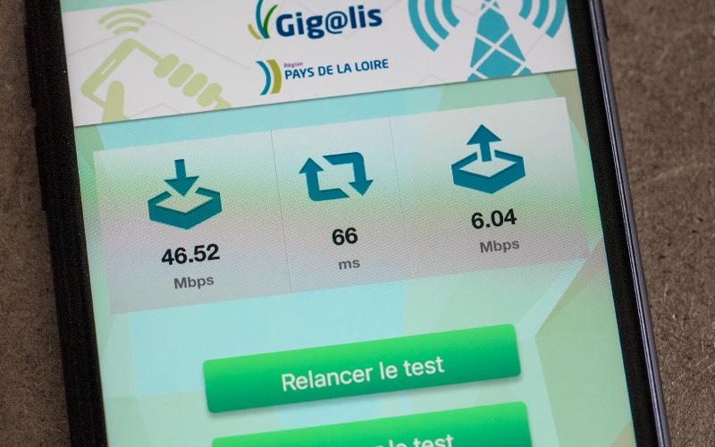 Gigalis : succès de l'appli qui teste votre réseau mobile