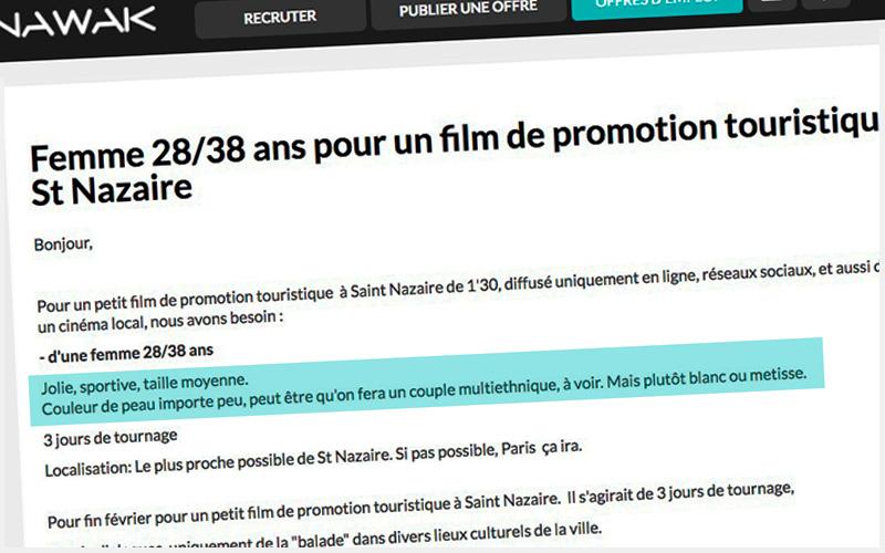 Tournage à Saint-Nazaire : deux annonces de casting qui passent mal