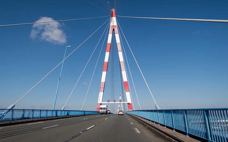 Pont de Saint-Nazaire : fermeture la nuit du jeudi 21 au vendredi 22 mars