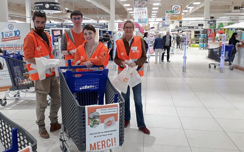 Saint-Nazaire : pénurie de produits à distribuer de la banque alimentaire