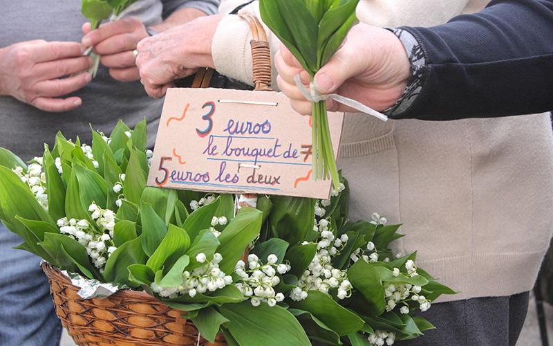 Saint-Nazaire : les vendeurs de muguet doivent se déclarer en Mairie