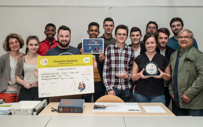 15 élèves du Lycée Heinlex remportent le prix national EPA