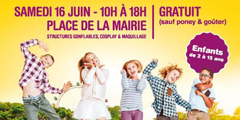Les enfants seront les rois à Plac'O Jeux samedi 16 juin à Saint-Nazaire