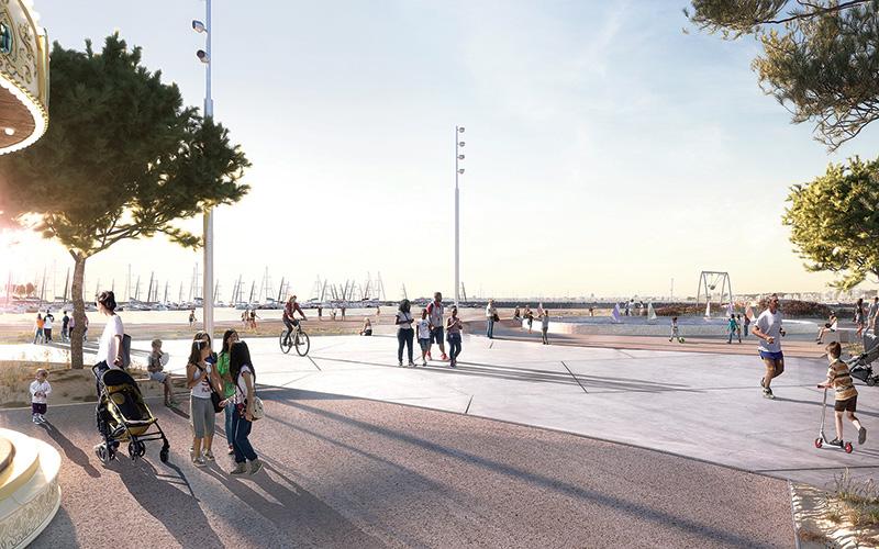 Pornichet : bientôt une promenade piétonne jusqu'au port de plaisance