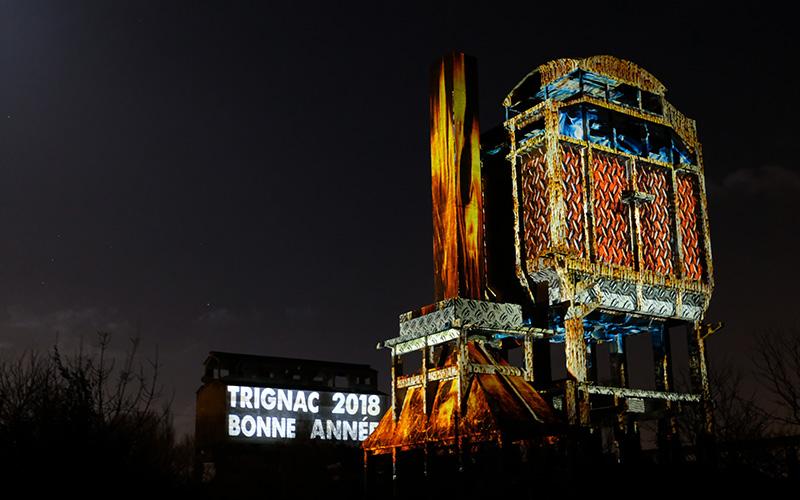 Trignac : 2 nuits pour photographier la magie des Forges en Lumière