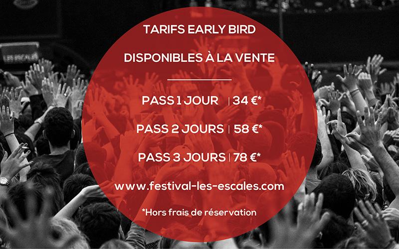 Saint-Nazaire : les tarifs Early Bird du Festival Les Escales sont disponibles