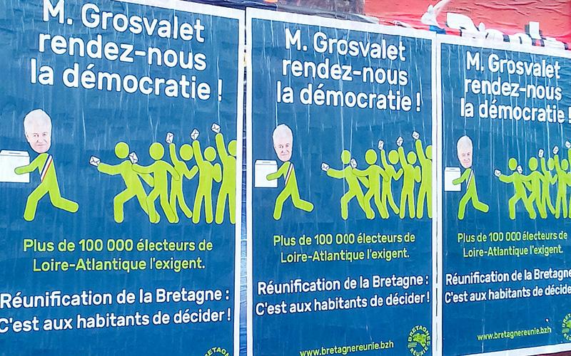 Loire-Atlantique : Philippe Grosvalet moqué par Bretagne Réunie