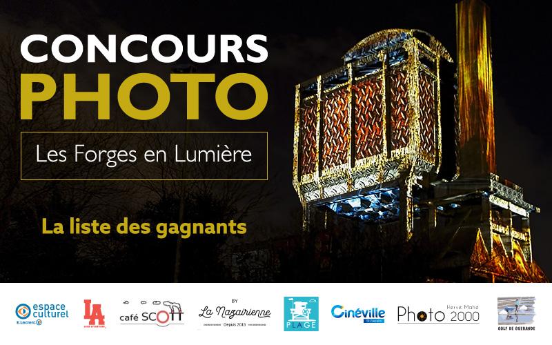 Résultat du concours photo Les Forges en Lumière