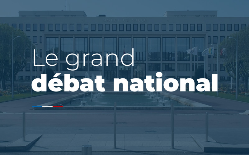 Saint-Nazaire : Grand Débat National demain 5 mars à l'Hôtel de Ville