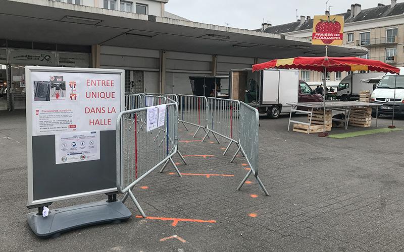 Saint-Nazaire : fermeture des halles et de tous les marchés