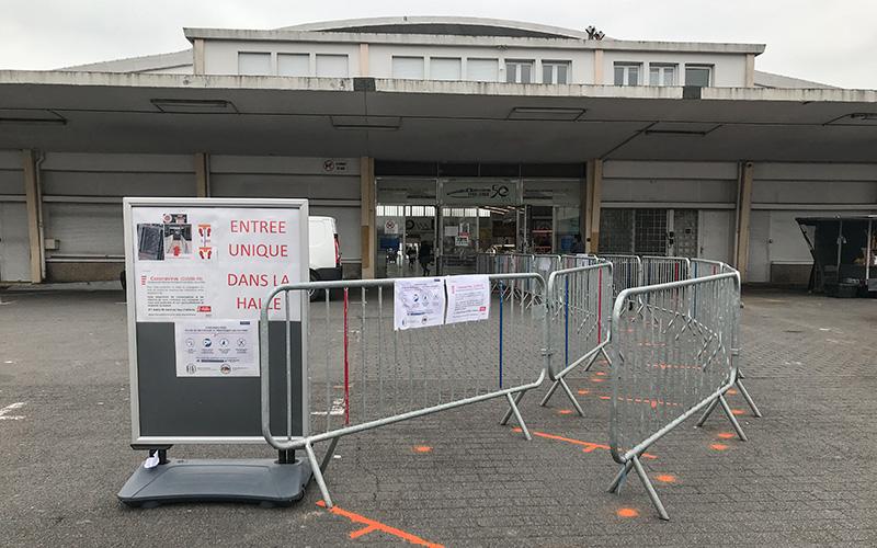 Saint-Nazaire : deux marchés autorisés à rouvrir