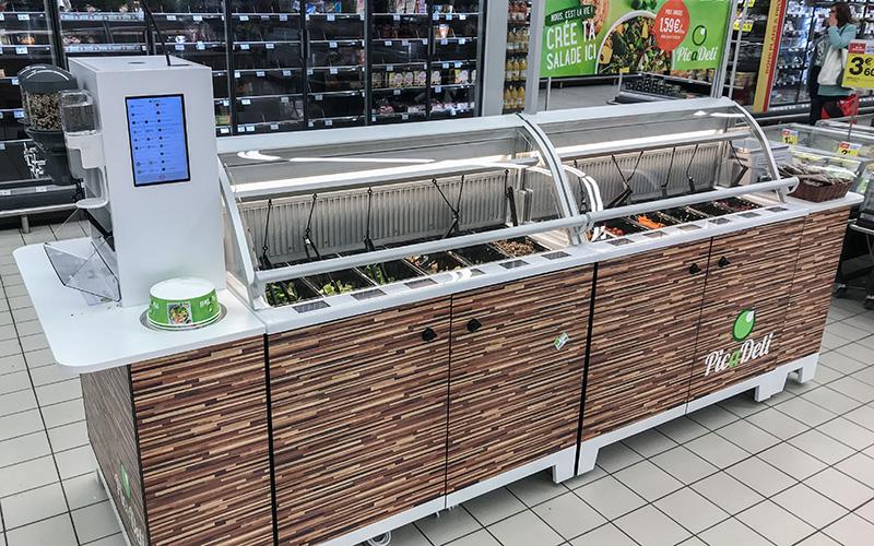 Saint-Nazaire : lancement d'un bar à salades en libre-service