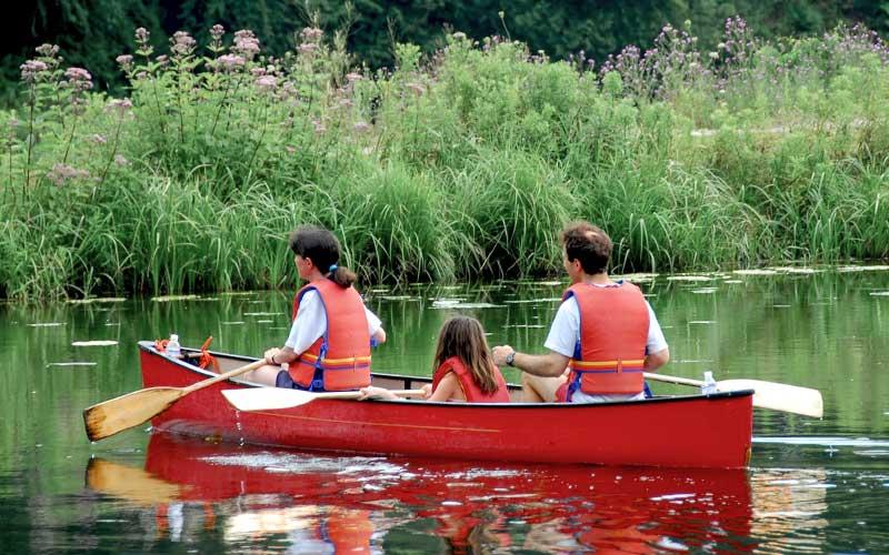 Saint-Nazaire : des canoë-kayaks en location au Bois Joalland le dimanche