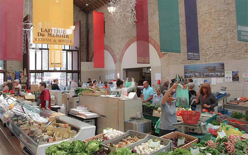 Guérande : ouverture des halles du marché 4 fois par semaine