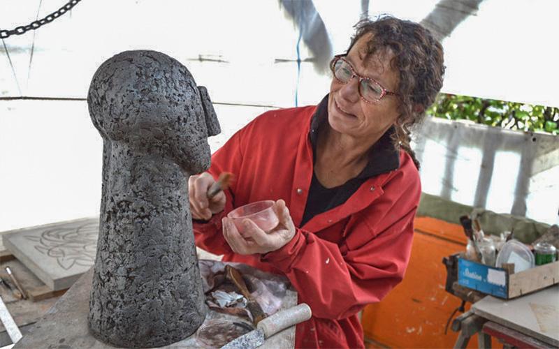 Les artistes ouvrent leurs ateliers au public sur la Presqu'île les 4 et 5 mai