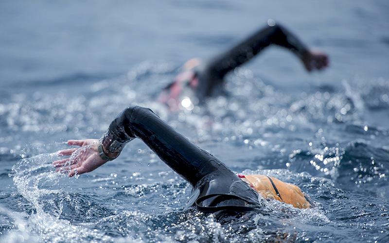 La Baule : une traversée à la nage entre Les Evens et la plage en juin