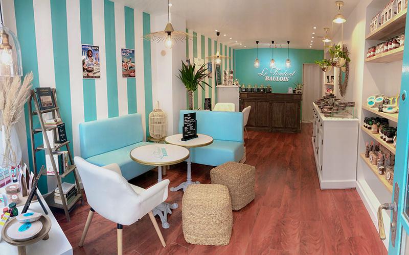 Une boutique et salon de thé Fondant Baulois a ouvert à Guérande