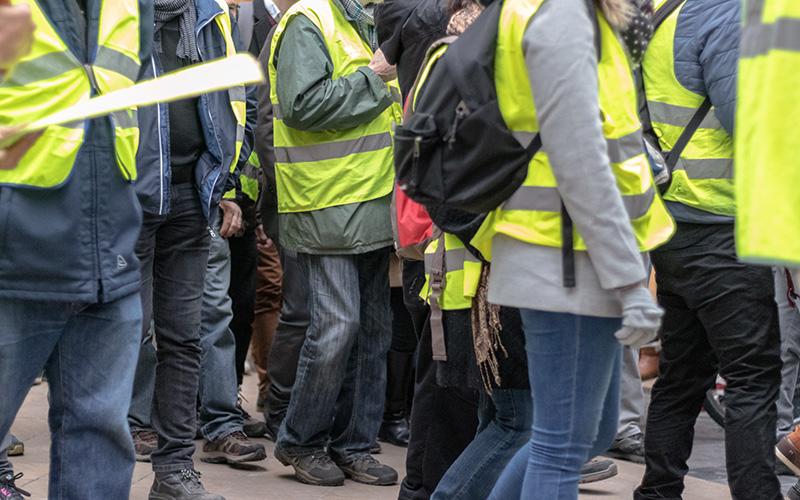 Interdiction de manifester dans le centre-ville de Saint-Nazaire le 18 mai