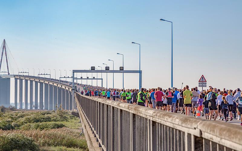 Les Foulées du Pont de Saint-Nazaire : réservez votre dossard dès aujourd'hui !