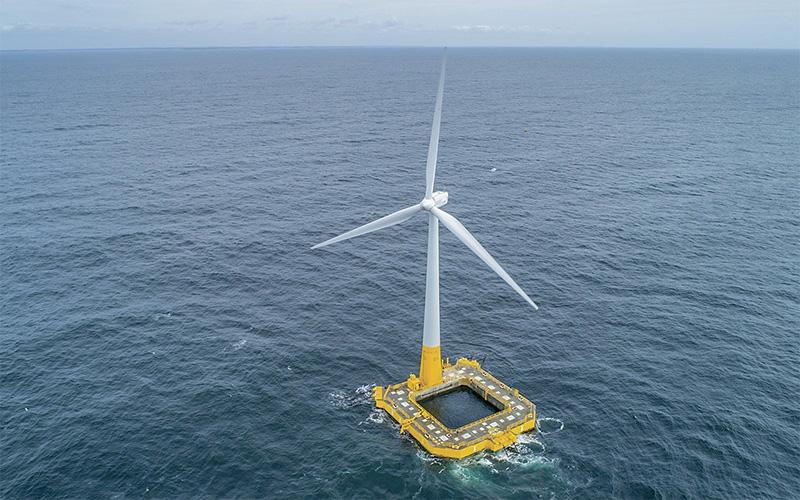 Éolienne en mer Floatgen : une visite en mer gratuite ouverte au public