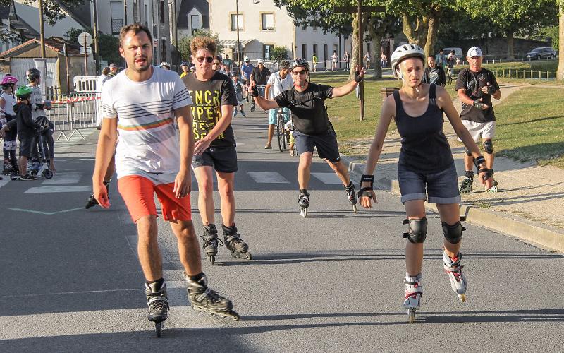Guérande Roller Tour : 2 soirées glisse autour des remparts cet été