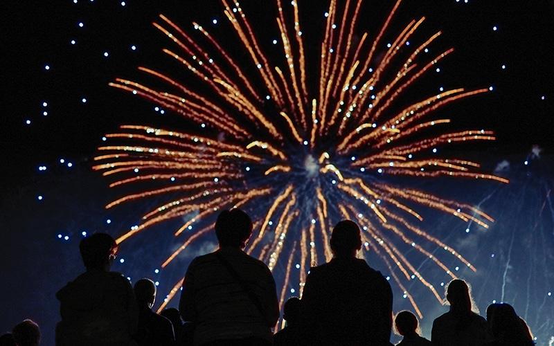 La Baule : feu d'artifice et concert au bord de la mer le 14 juillet