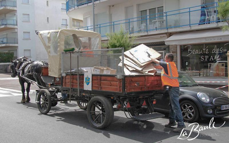 Insolite : les commerçants de La Baule à cheval sur la propreté