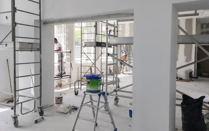 Pornichet : les travaux de la nouvelle salle d'exposition bientôt achevés