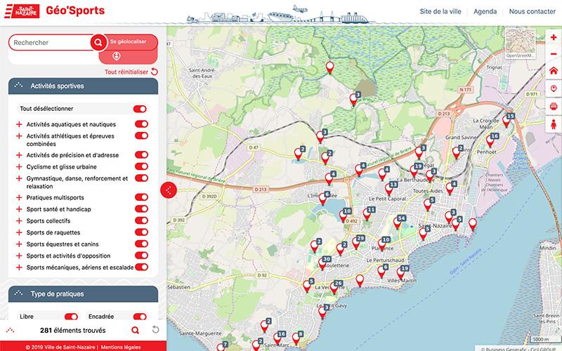 Saint-Nazaire : une carte interactive pour faire du sport en un clic