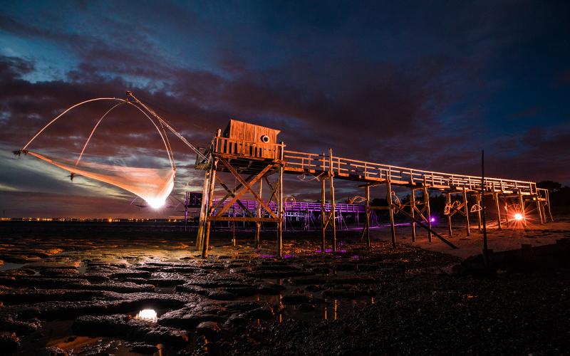 Saint-Brévin : un souffle poétique aux illuminations des pêcheries