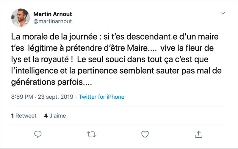 Saint-Nazaire : Martin Arnout, le tweet de trop ?