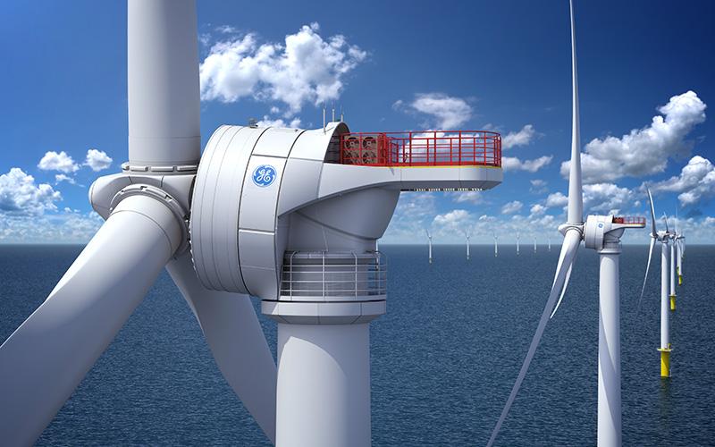 Saint-Nazaire : General Electric annonce le début de la production des éoliennes en mer