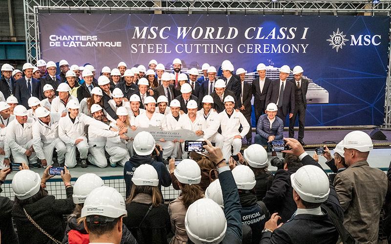 Accord MSC - Chantiers de l'Atlantique : en route vers le paquebot du futur