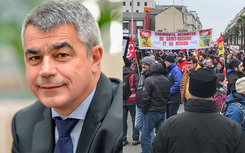 Saint-Nazaire : David Samzun manifestera le 17 décembre
