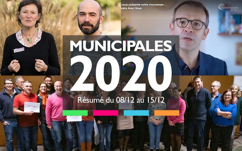 Municipales 2020 Saint-Nazaire : le résumé de la semaine