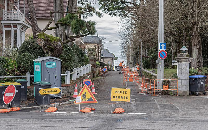 Pornichet : fermeture de l'avenue de Porson pour travaux