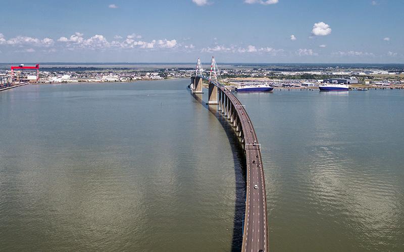 Rafales sur le Pont de Saint-Nazaire : des perturbations à prévoir