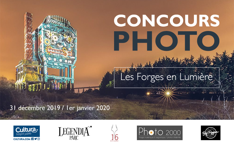 """Concours photos """"Les Forges en Lumière"""" : à vos likes !"""