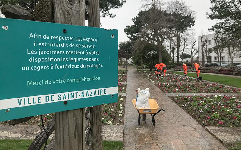 Saint-Nazaire : pas de potager au Jardin des Plantes cet été