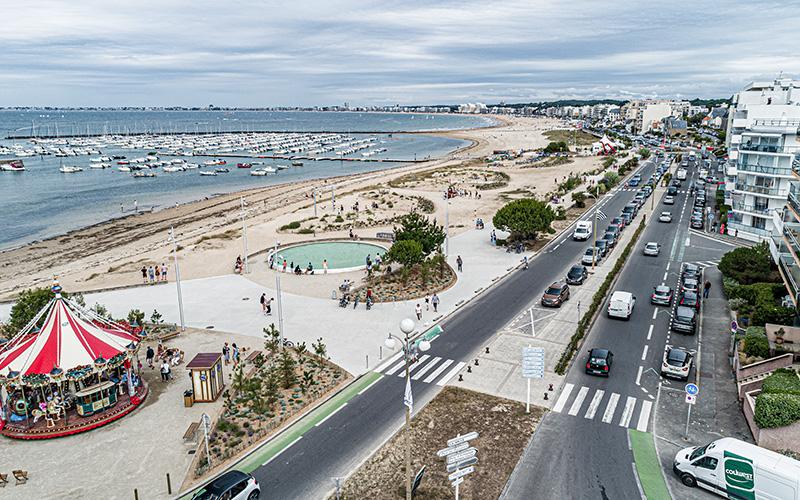 Pornichet : le maire souhaite une réouverture du front de mer plus rapide