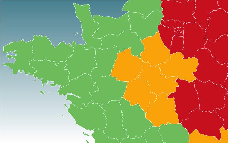 Déconfinement : le département de la Loire-Atlantique passe au vert