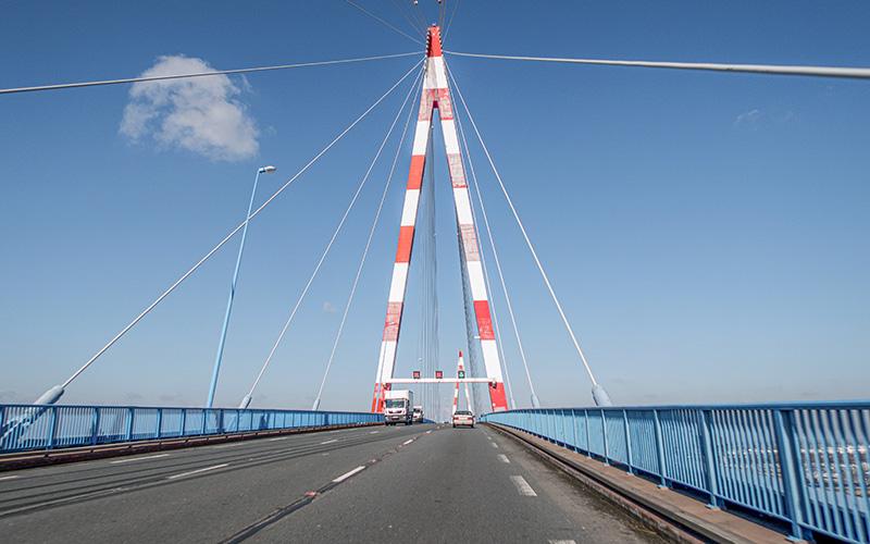 Saint-Nazaire : fermeture du Pont les nuits du lundi 18 mai et mardi 19 mai