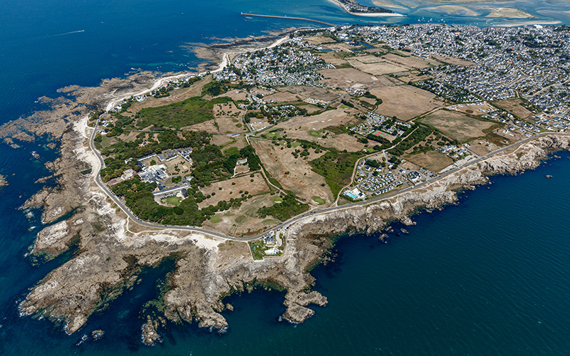 Le Croisic : le port du masque obligatoire sur le sentier côtier