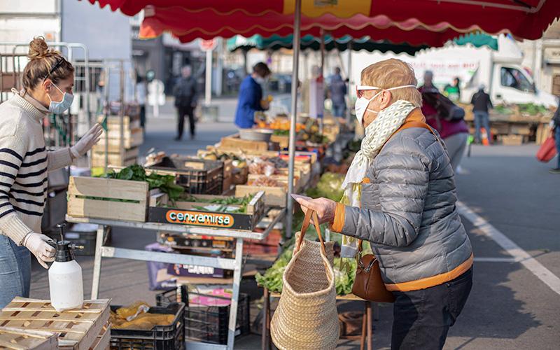Pornichet : le marché s'élargit à partir du samedi 16 mai